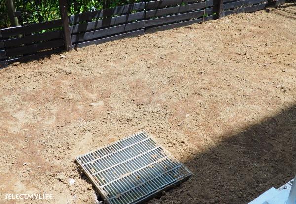 庭 芝の張り替え